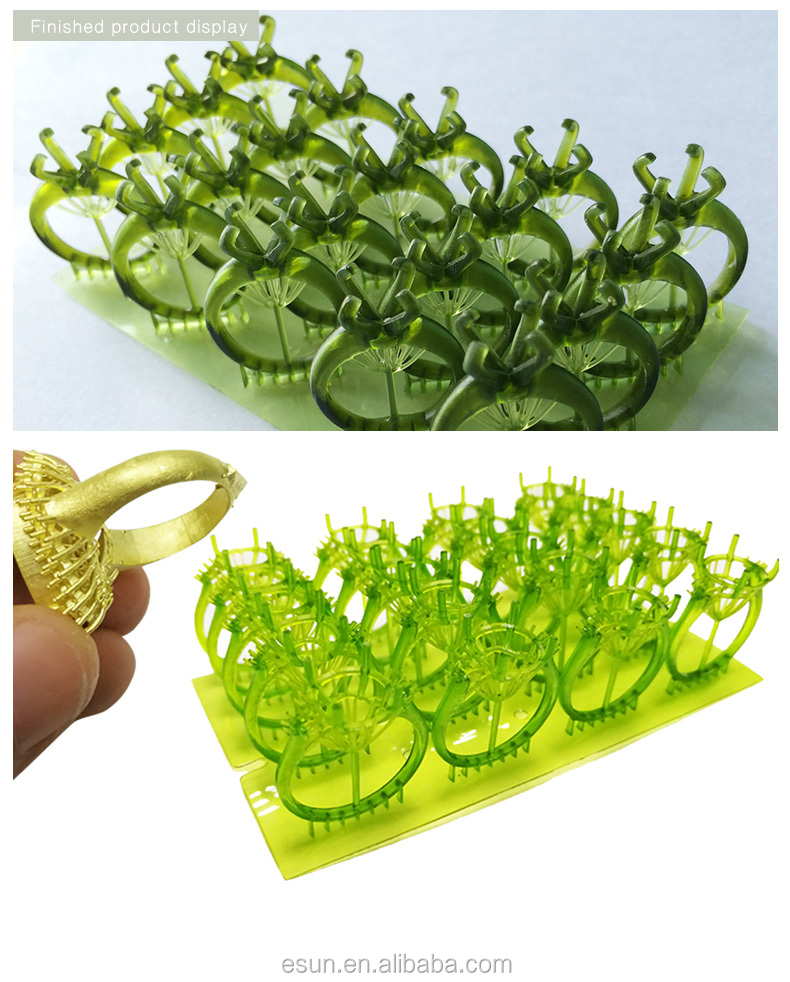 eSUN 3D Printing Castable resin for jewelry