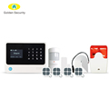 LoRa wireless security alarm system,WiFi/GSM smart home security intruder alarm system with long distance