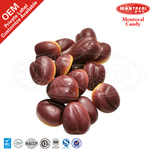 Peach Shaped sweets candies and confectionery