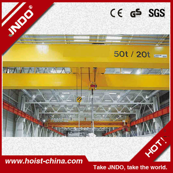 Double Girder Heavy Duty Overhead Traveling Crane/Bridge Crane/EOT Crane