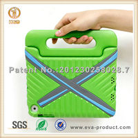 Protective X shape rugged cartoon cover for ipad