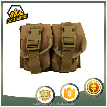 2016 small military combat magazine bag, popular outdoor hiking water bag for sale, sport military water bottle pouch bag