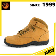 Italian Model Yellow safety power waterproof hiking shoes boots made in China