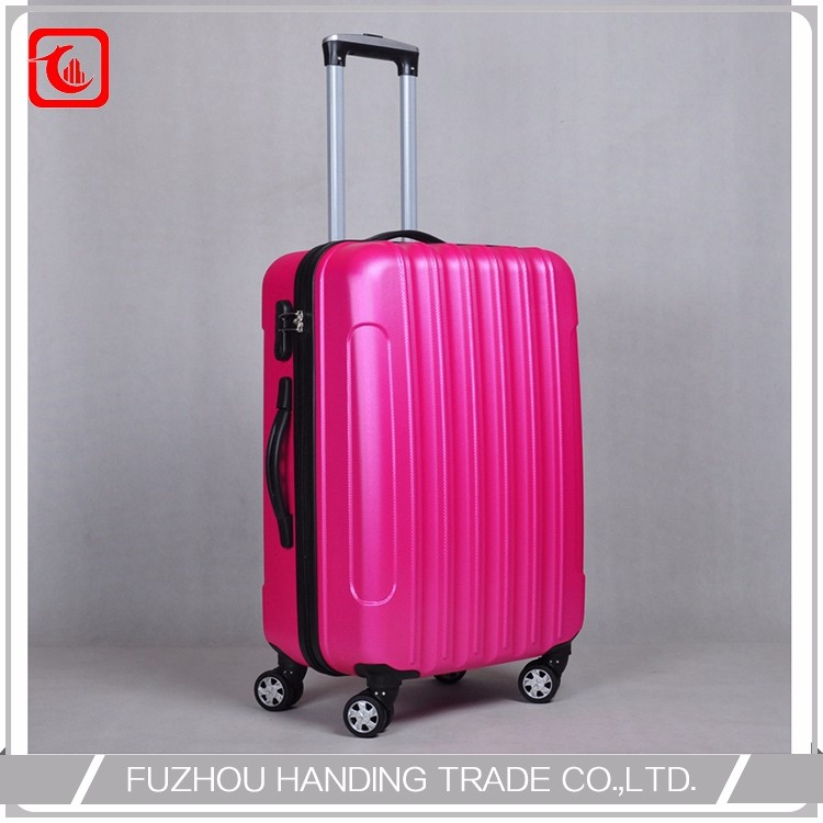 4 Wheel Light Weight Trolley Suitcase Professional Manufacture