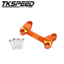 HRC-KT001-OR Orange Motor bike Handlebar Clamp Fit For KTM DUKE 390 200 125 Dirt Bike