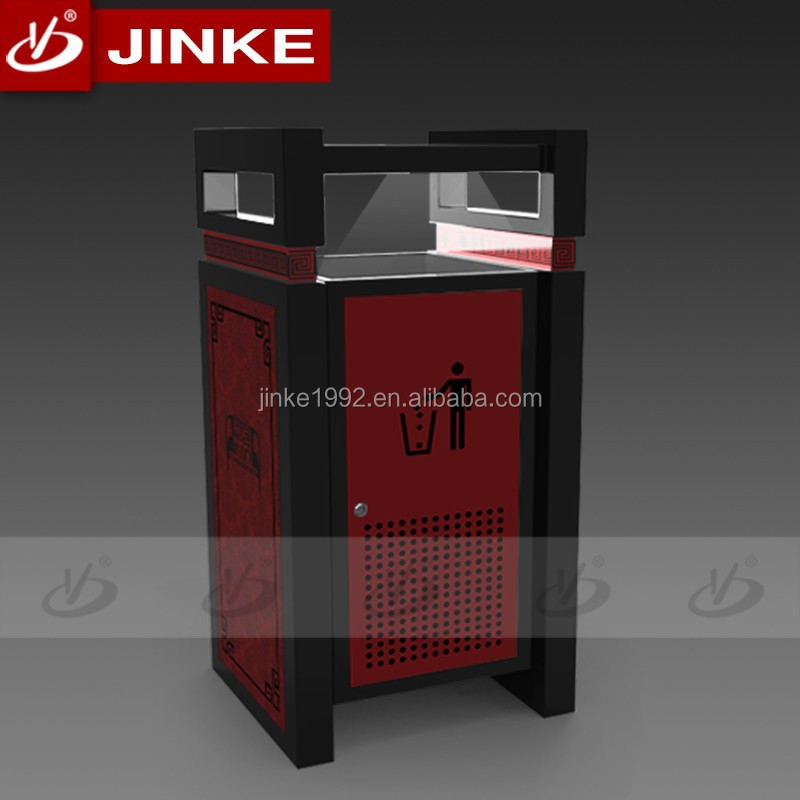 JINKE 2015 New Products Steel Bin (ZD-0034-6L) Low Price Garbage Incinerators for Sale