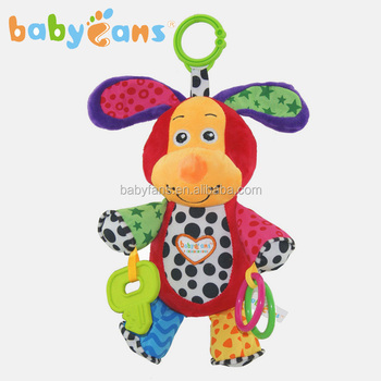 Babyfans baby toys plush music dog stuffed animals with sound