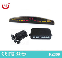 hot selling car parking radar with 4 rear sensors for safety parking alarm by bibi sound easy installation
