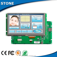 flexible lcd touch screen 3.5 inch tft lcd module, driven by Any MCU