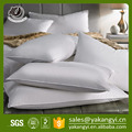 Functional Customized Logo White Cotton Alternative Pillow Insert For Hotel Use