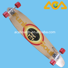 Types of wood boards and Birch Maple Wooden Longboard