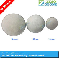 Water mixing device micro bubble air stone ozone diffuser