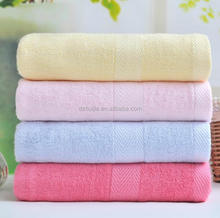 Hot sale most soft and absorbent 100% organic bamboo bath towels wholesale