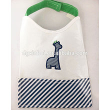 Promotional cartoon cotton baby bibs with long service life