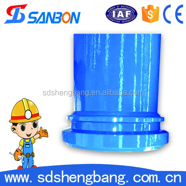 Free sample abrasion resistant layer seamless steel concrete pump pipe st52