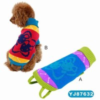 Colorful Super Soft and Warm Dog Overalls