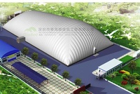 Inflatable membrane structure fitness facilities special price for material ofpneumatic membrane directselling canopy
