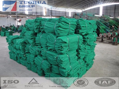 green shade netting in various types