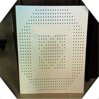Perforated Stainless Steel sheet grade 304. Round and square holes