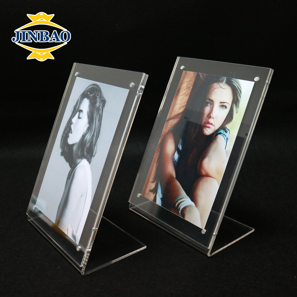JINBAO Multi Magnetic Cross Shape Acrylic 8x10 Photo Pictures Frame