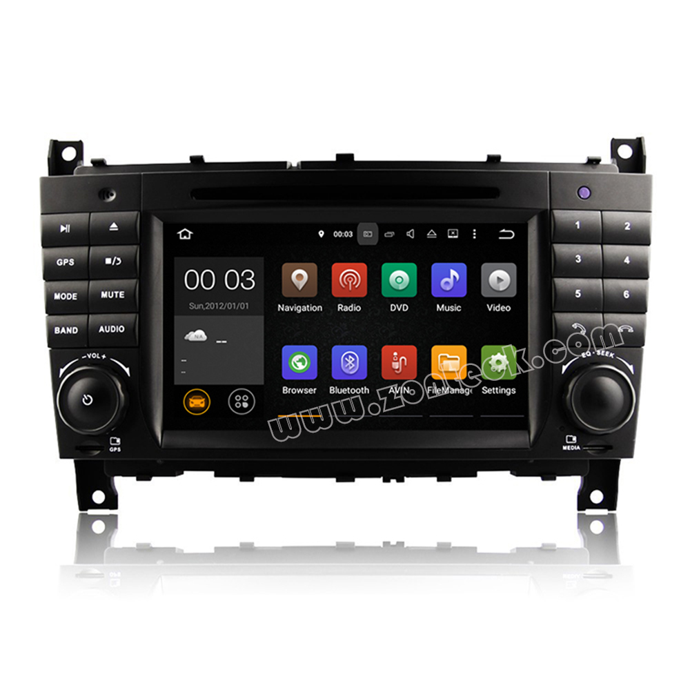 Zonteck ZK-5069B Android 5.1 for Mercedes W209 C-Class CLK Car Radio