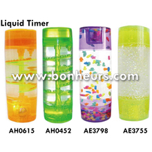 New Novelty Toy Drops Jel Spiral Staircase Liquid Timer