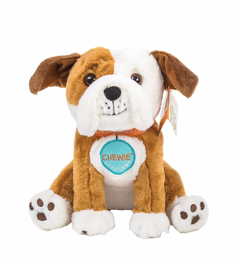 Chewie the English Bulldog Plush Toy From Oliver & Hope's Adventure Under the Stars/soft plush toy