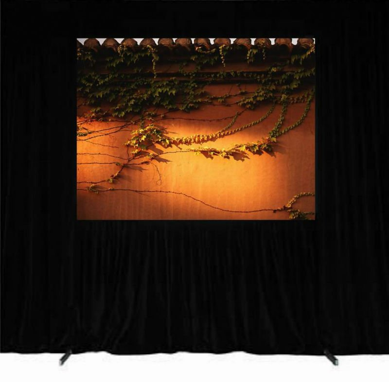 180 inch wall mount quick fold projection screen beaded 16:9