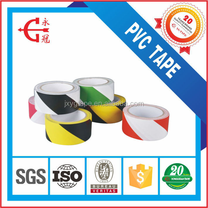 W115 yongguan brand 0.15mm Adhesive underground detectable PVC warning tape