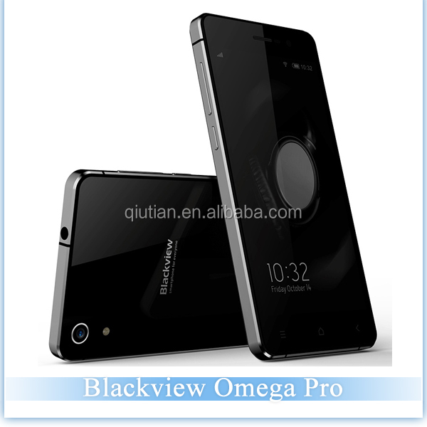 4G FDD-LTE Mobile Phone Blackview OMEGA PRO 5.0Inch HD IPS Screen MTK6753 Octa Core 3GB RAM 16GB ROM Android 5.1 Cell Phones