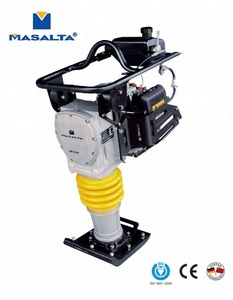 60kg petrol tamping rammer with engine Robin EH09