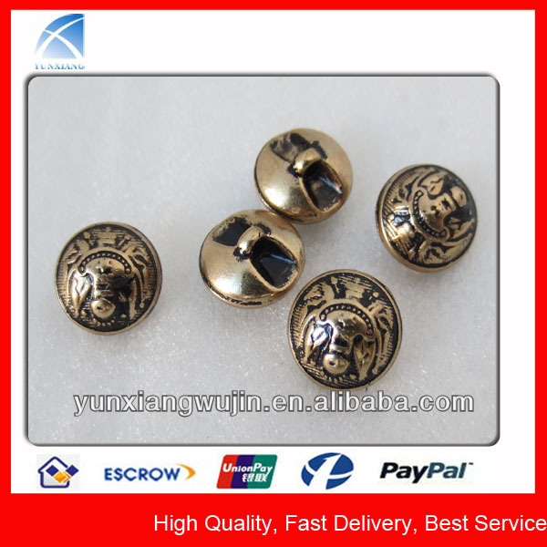 YX5294 Custom Brand Small Metal Blazer Buttons