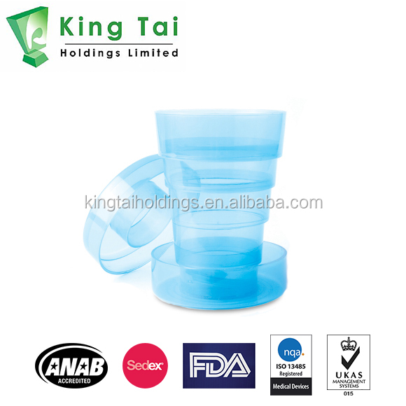 Foldable Cup - Sedex, FDA, ANAB, ISO Accredited Medical Pill Box, Pill Organizer