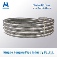 SUS304 316L Annular stainless steel flexible hose (Ningbo)