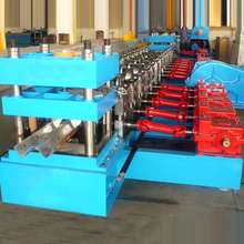 2017 new design hebei xinnuo highway guard barrier floor tile making machine price