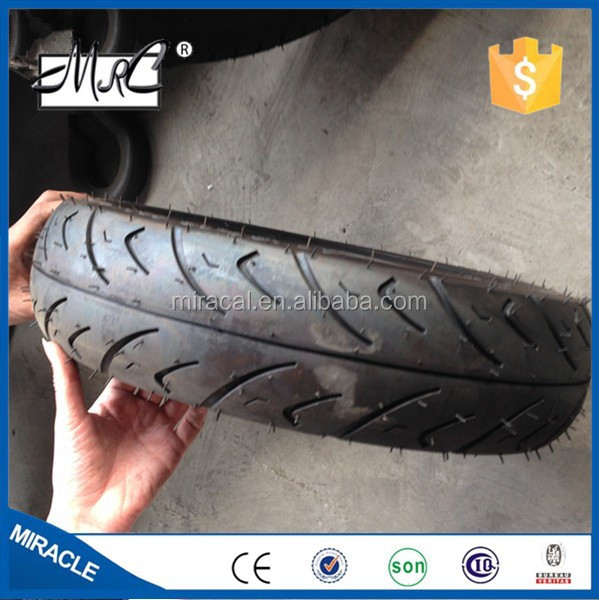Motorcycle tubeless industry tires 90/90-12 8pr with cheap price