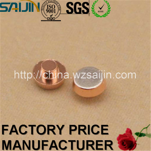 Variety of Copper and Silver Bimetal Contact Rivet for Relays and Switches