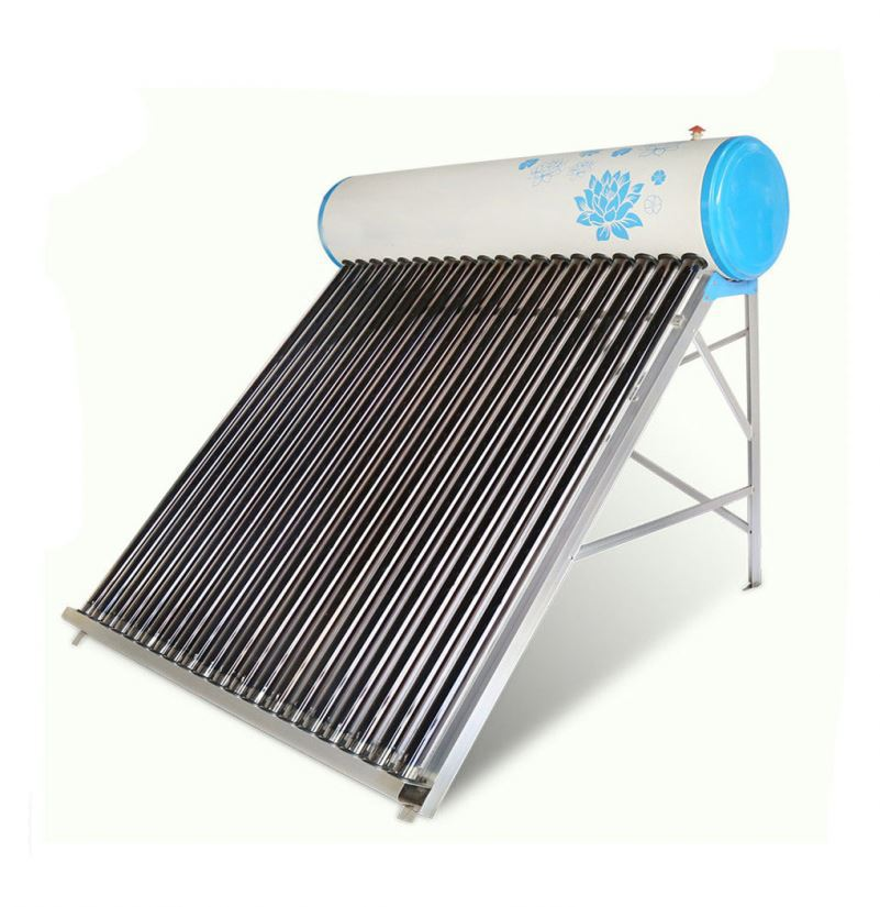 Vacuum tubes solar water heater collector
