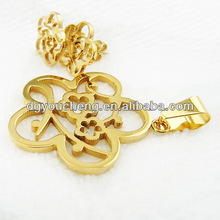 Wholesale stainless steel gold plated cheap indian fashion jewelry