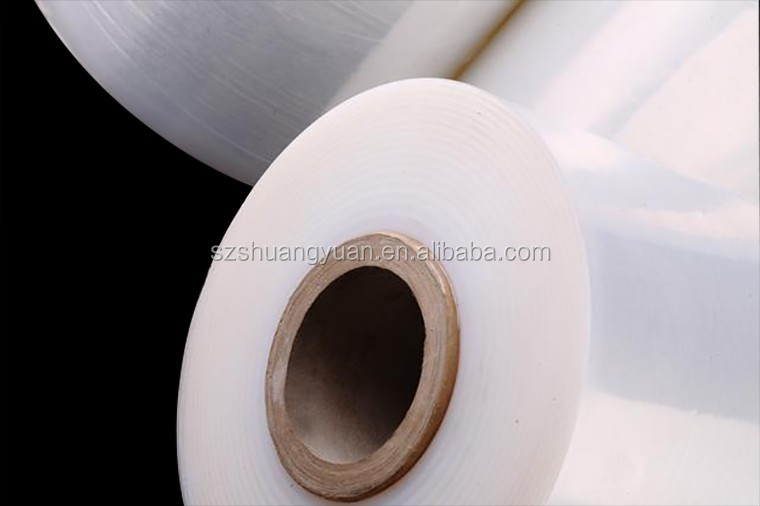 SY Packaging Clear Multicolor Stretch Film jumbo roll / warp film