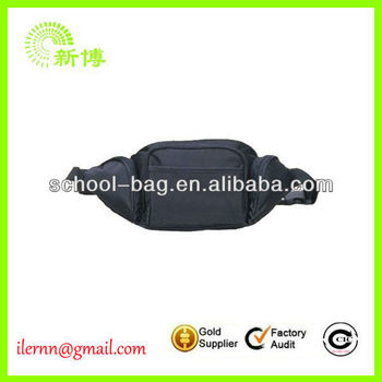 2017 fashion leather running waist bags