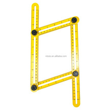 Stainless Steel Template Tool Angle Measuring Angleizer multi-angle Ruler