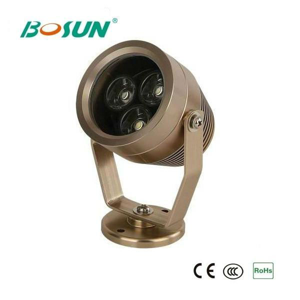 3w 6w 9w Stainless Steel LED Underwater Swimming Pool Light