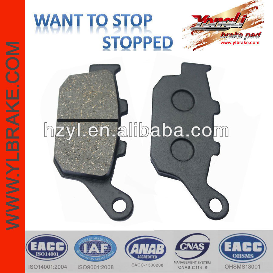 high performance brake pad machine