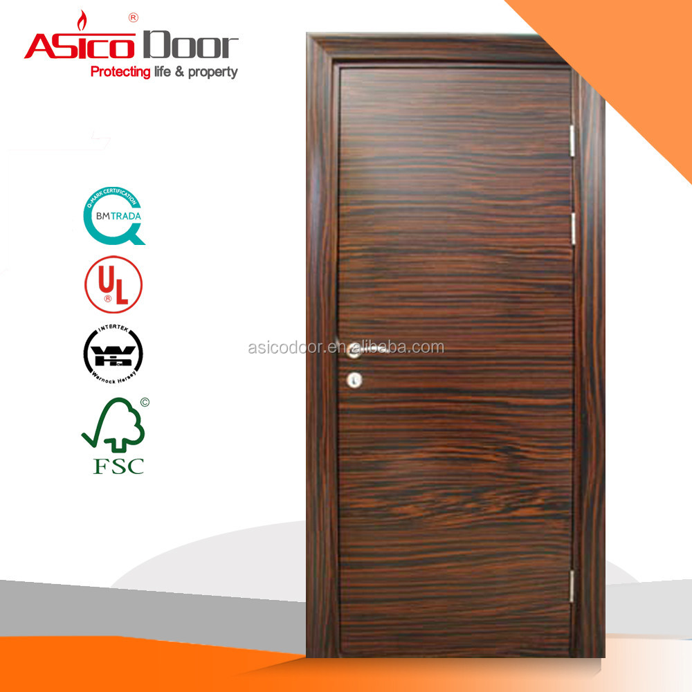 ASICO WN 69-09 BS476 Standard 2 Hours Fire Rated Wooden Door