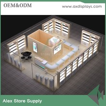 Optical Shop Interior Design China Optic Display Showcase Furniture Supplier