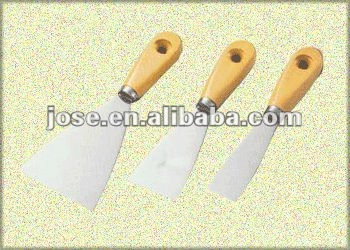 wooden handle carbon steel putty knife