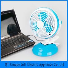 2016 New Trendly Products Home Or Office Usb Mini For Desk Table Fan 12V Top