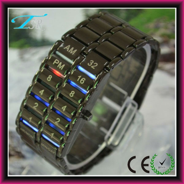 new digital watch 2016 iron samurai lava led digital watches