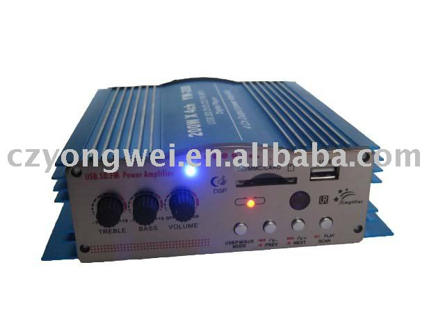 Audio Power Amplifier for Car Bus Coach with FM radio
